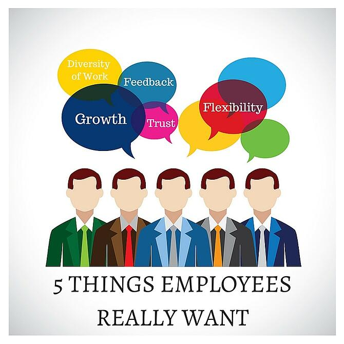 what employees want