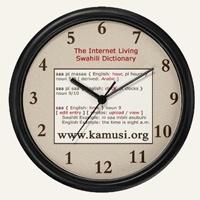 swahily clock