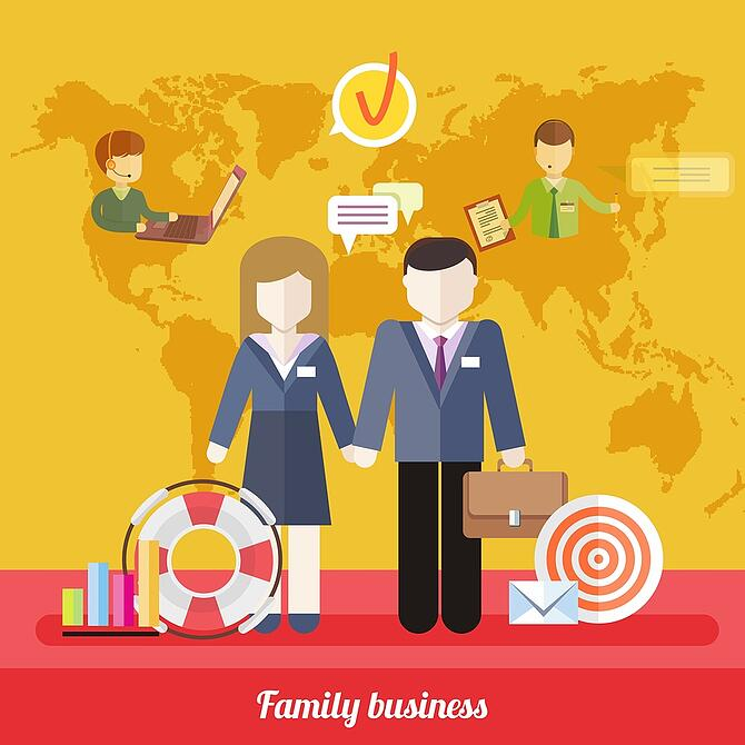 Balance Between Business Work and Family Life