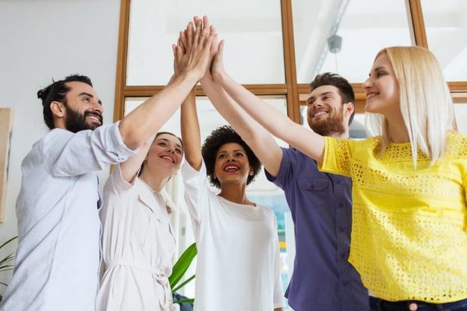 success-oriented sales team