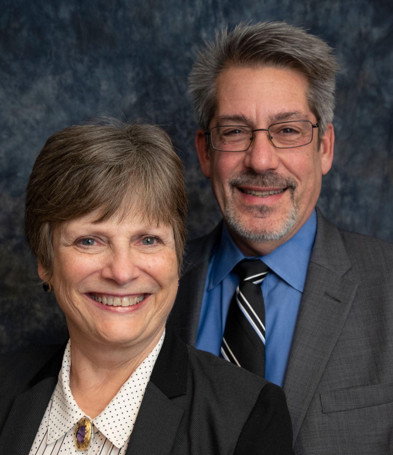 Jackie Gernaey and Todd Ringler