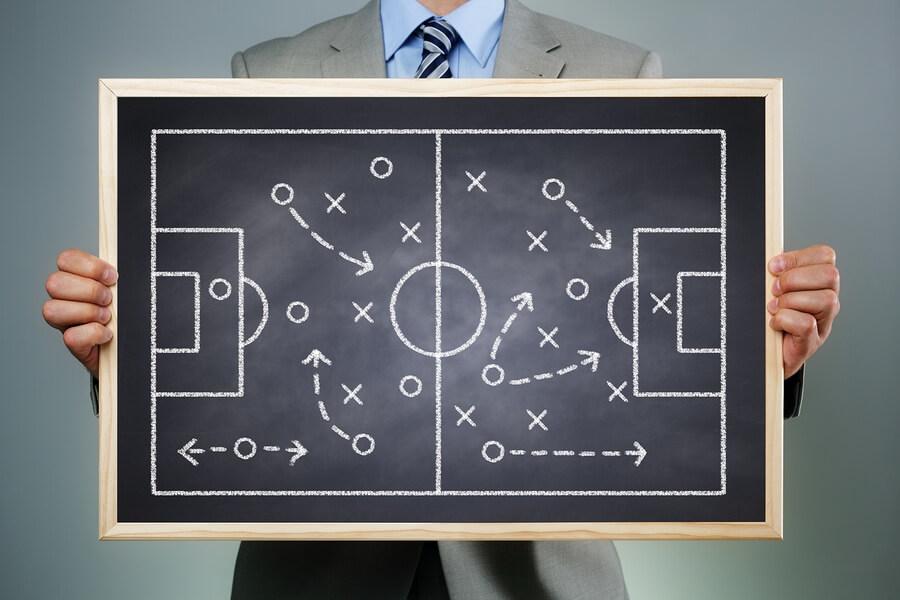 bigstock-Business-strategy-businessman-67467796